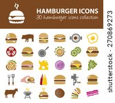 hamburger icons | Shutterstock .eps vector #270869273