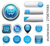 graph icon | Shutterstock .eps vector #270874583