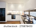 modern designed kitchen with... | Shutterstock . vector #270878453