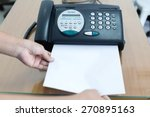 office printer fax and copy...   Shutterstock . vector #270895163