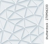 white paper with outline... | Shutterstock .eps vector #270906233