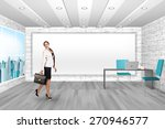 young woman in the modern office | Shutterstock . vector #270946577
