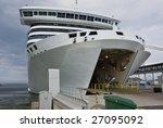 White Ferry Loading