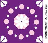 nice flower illustration ... | Shutterstock .eps vector #270962153