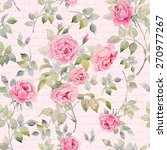 Colorful Vintage Pattern With...