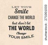 retro typographic poster design ... | Shutterstock .eps vector #271001033