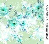 seamless pattern beautiful...   Shutterstock . vector #271026977