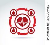 vector illustration of a red... | Shutterstock .eps vector #271029467