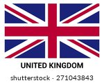 united kingdom uk great britain ... | Shutterstock .eps vector #271043843