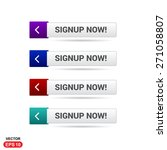 signup now button. abstract... | Shutterstock .eps vector #271058807