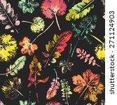 crazy beautiful watercolor... | Shutterstock . vector #271124903