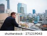 Businessman Enjoying Urban Vie...