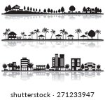 various city | Shutterstock .eps vector #271233947
