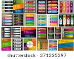 colorful modern text box...   Shutterstock .eps vector #271235297