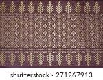 thai silk and texture | Shutterstock . vector #271267913