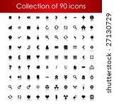 collection of icons for your... | Shutterstock .eps vector #27130729