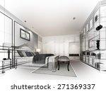 abstract sketch design of... | Shutterstock . vector #271369337