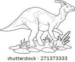 dinosaur | Shutterstock .eps vector #271373333