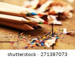 Wooden Colorful Pencils With...
