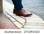 Men Shoes Street City Walk