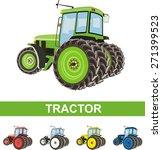 tractor | Shutterstock .eps vector #271399523