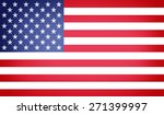 usa flag | Shutterstock . vector #271399997