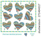 find two identical pictures of... | Shutterstock .eps vector #271404317