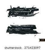 splash banners. watercolor... | Shutterstock .eps vector #271423097