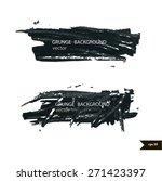splash banners. watercolor... | Shutterstock .eps vector #271423397