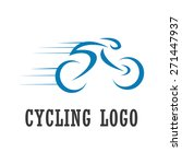 cycling sport logo   bike... | Shutterstock .eps vector #271447937