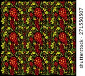 seamless pattern in style of... | Shutterstock . vector #271550507