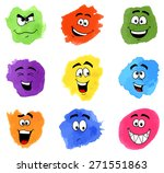 illustration of color patches... | Shutterstock . vector #271551863