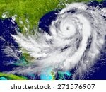 huge hurricane near florida in... | Shutterstock . vector #271576907
