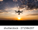 professional drone flying in... | Shutterstock . vector #271586207