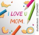 mothers day background | Shutterstock .eps vector #271624463