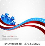 abstract image of the american... | Shutterstock .eps vector #271626527