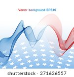 abstract image of the american... | Shutterstock .eps vector #271626557