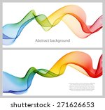 Set Of Abstract Banners Colore...