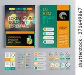 green business brochure... | Shutterstock .eps vector #271649867