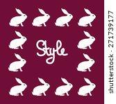 funny hair card. vector... | Shutterstock .eps vector #271739177