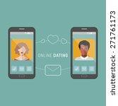 vector illustration of online... | Shutterstock .eps vector #271761173