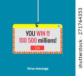 virus message  malicious script ...