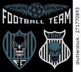football team crests set with... | Shutterstock .eps vector #271770893