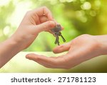 key  moving house  real estate. | Shutterstock . vector #271781123