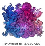 vector colorful  texture with...