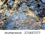 Small photo of Geological deposits of ore. Industrial mining.