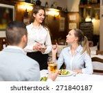 portrait of happy adults having ... | Shutterstock . vector #271840187