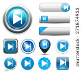 media player button | Shutterstock . vector #271874933