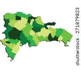 dominican republic | Shutterstock .eps vector #271879823