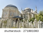 sehzade mosque and tomb of ... | Shutterstock . vector #271881083